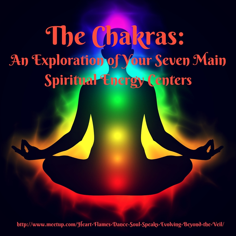 Your Chakras: An Exploration of Seven Spiritual Energy Centers – Sunday, 04/30/17